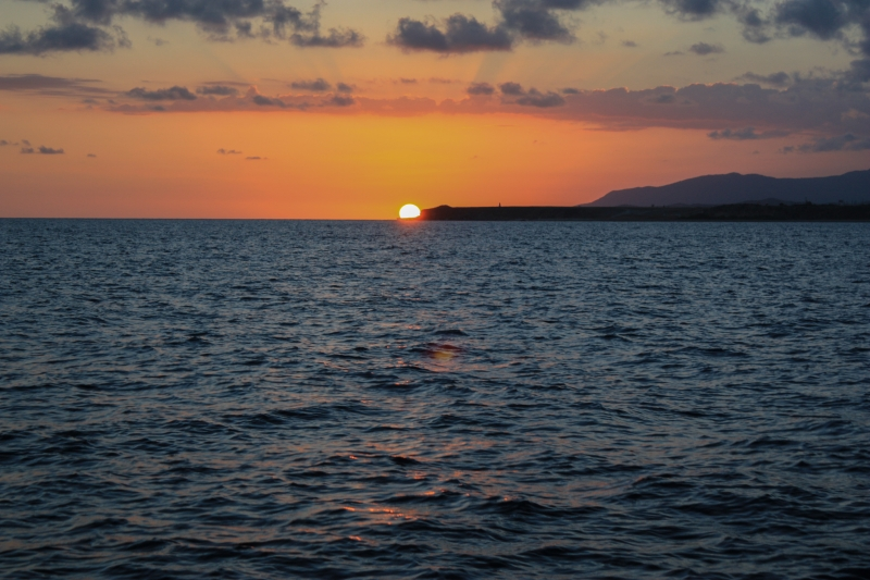 Sunset Over Guantanamo Bay