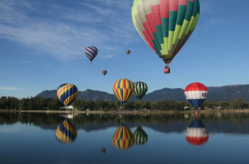Colorado Balloon Classic Reflections