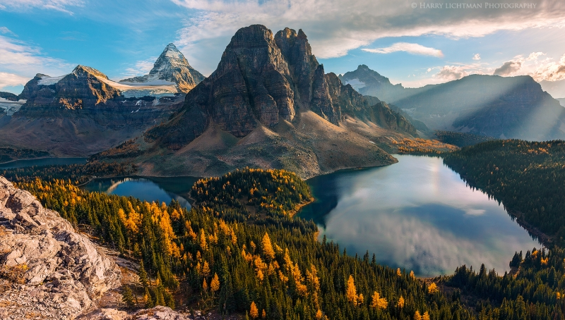 Autumn Above Assiniboine
