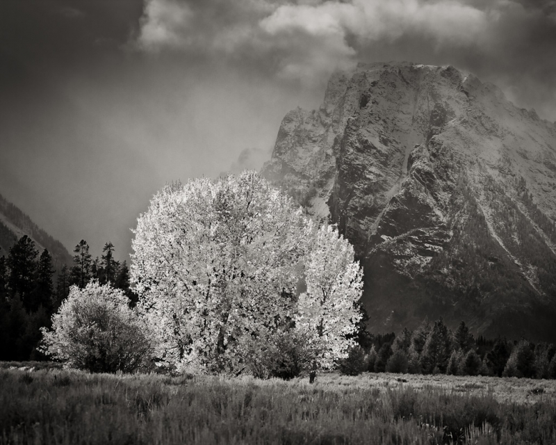Grand Teton – Clearing Storm