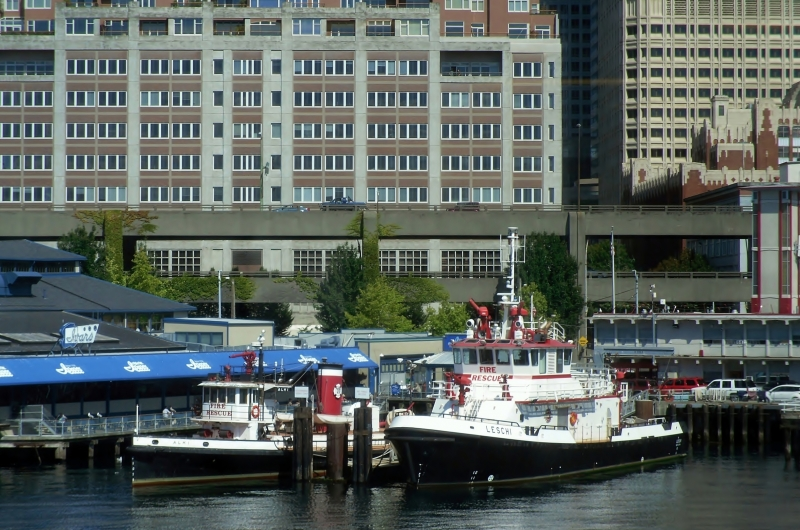 Seattle Fire Boats