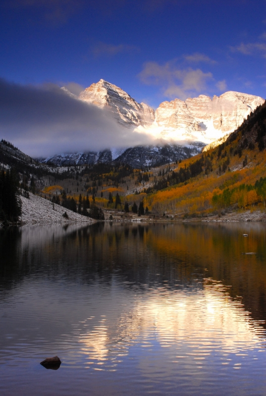 Maroon  Bells Storm Clearing