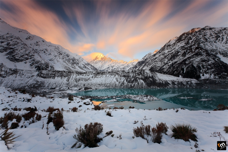 Mount Cook Viewed From Kea Point