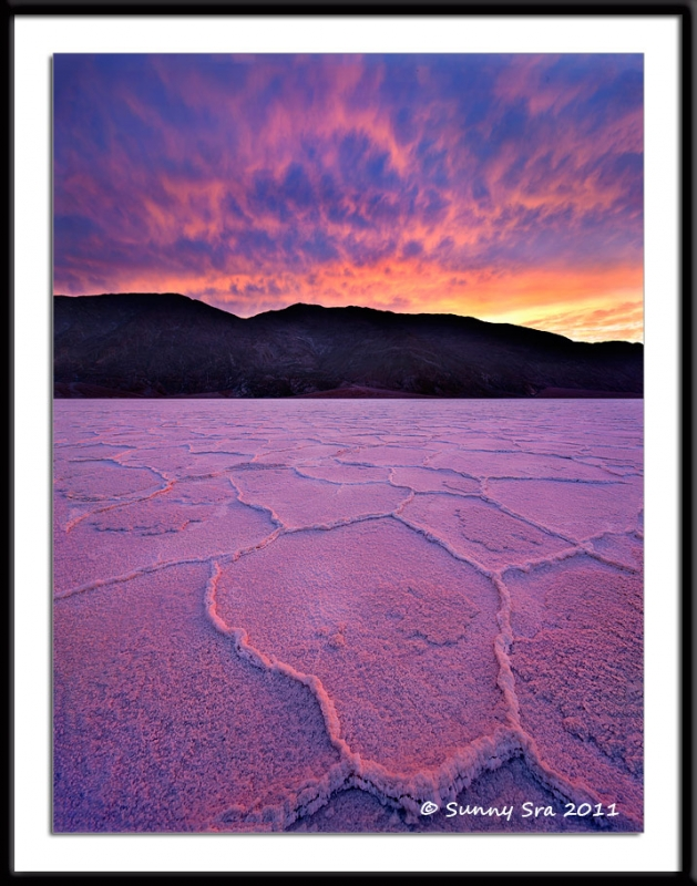 Flames In Badwater