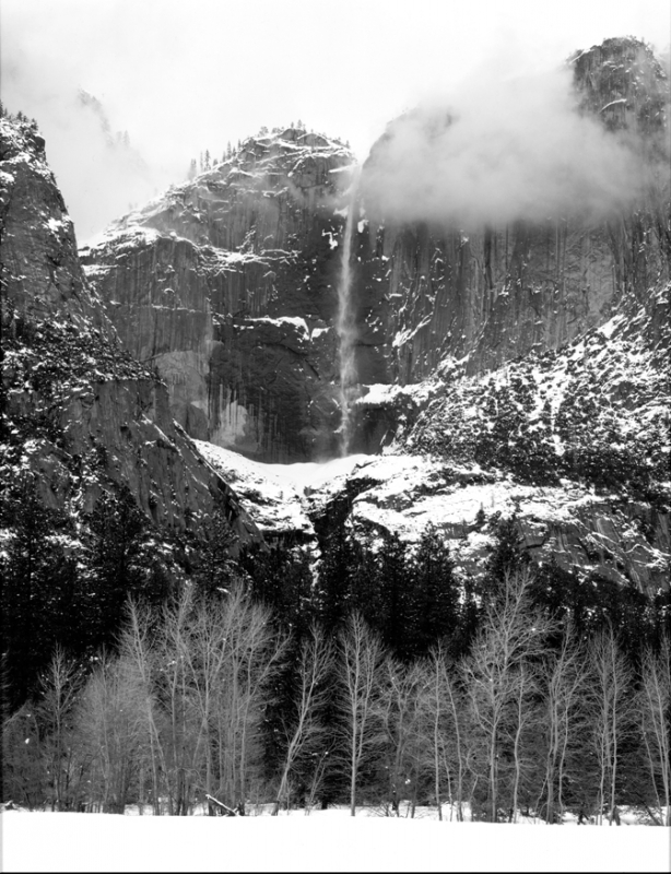 Yosemite Falls Winter