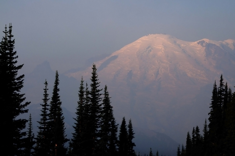 Sunrise Mount Rainer