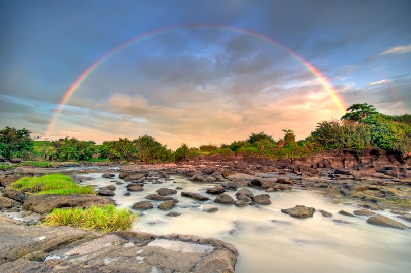Rainbow On The River