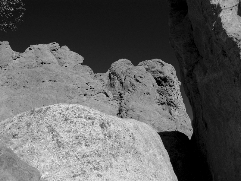 Rocks And Sky Garden Of The Gods
