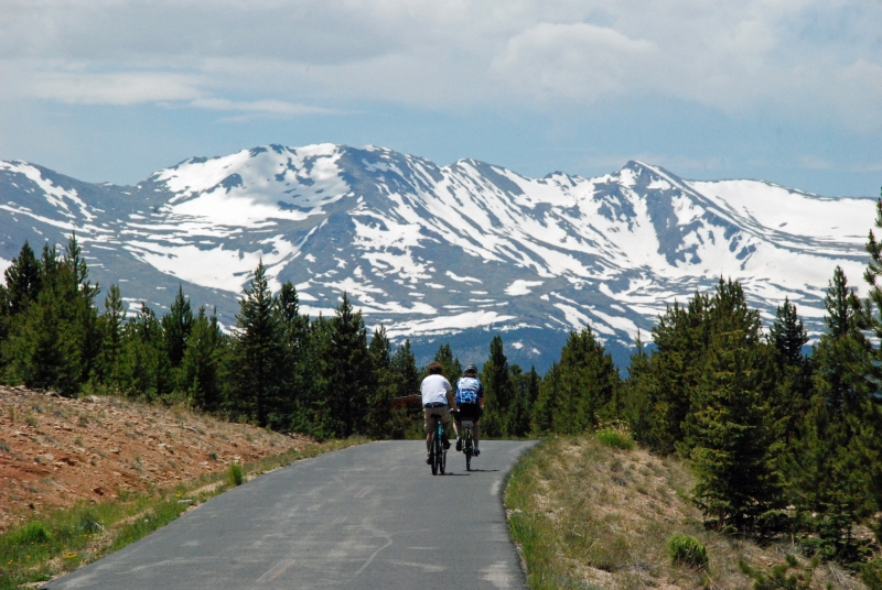 Cycling The Rockies