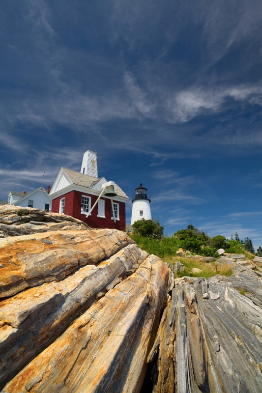 Rustic Pemaquid Point Light