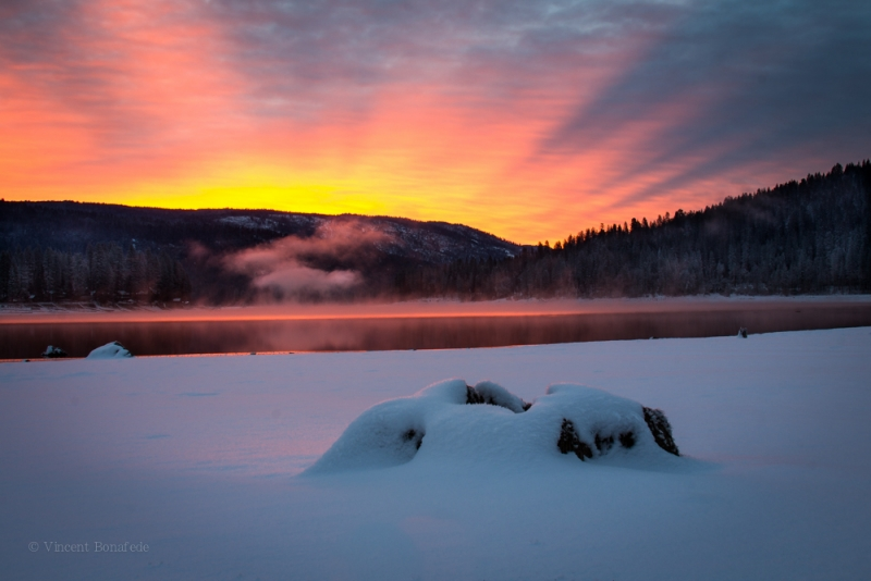 Sunrise At Bass Lake
