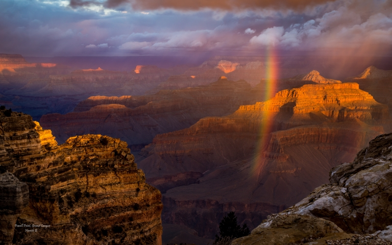 Festival Of Lights In Grand Canyon