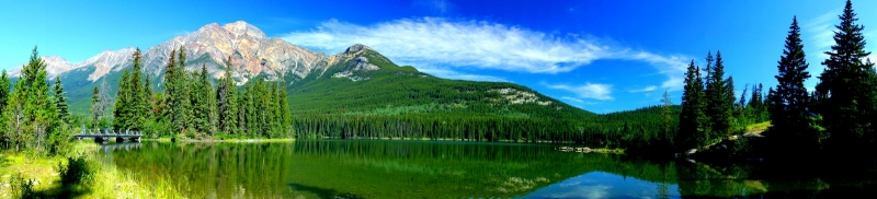 Canadian Rockies Reflected