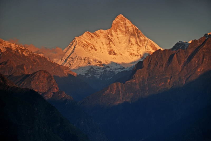 Sunset On Nanda Devi
