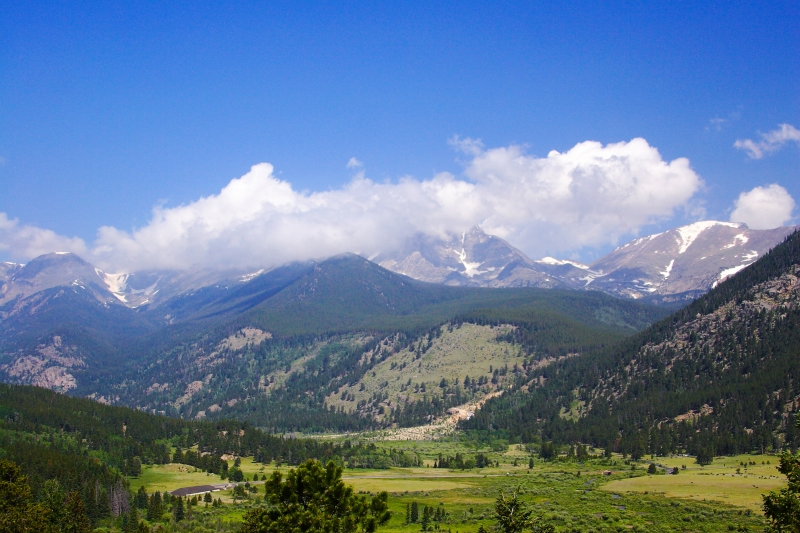 Valley In Rmnp