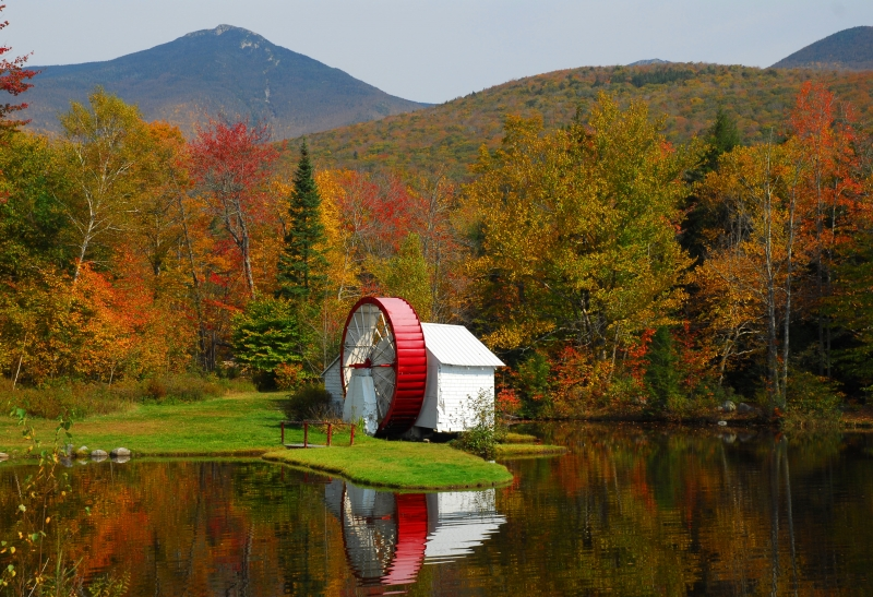 New Hampshire Waterwheel