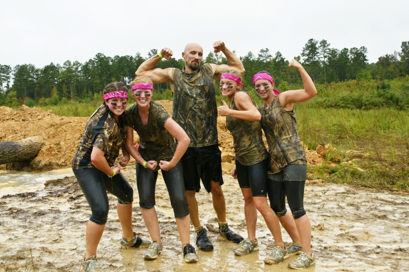 Mud Run Warriors