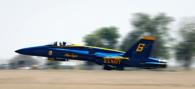 Blue Angel Blast Off