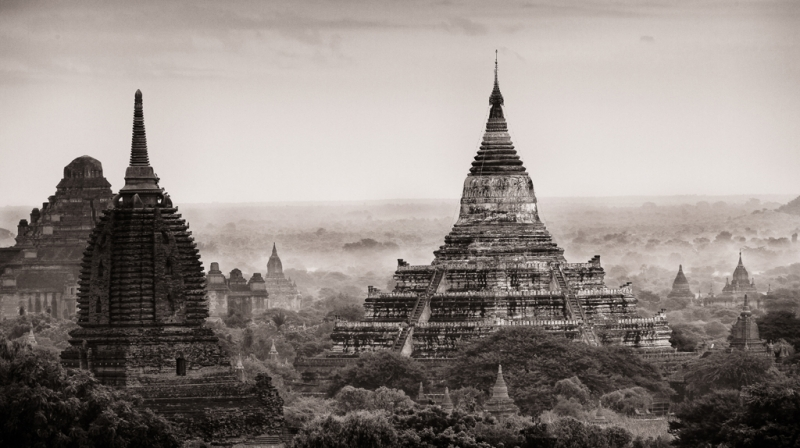 Bagan At Dawn
