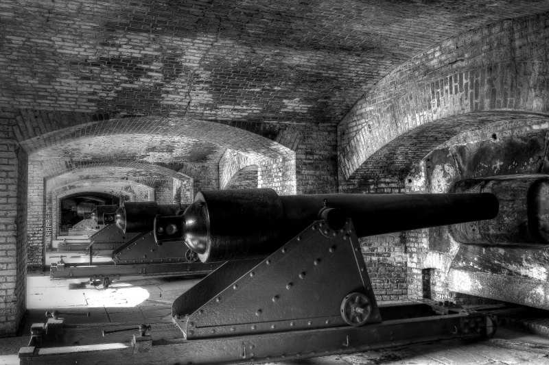 Fort Sumter Cannons