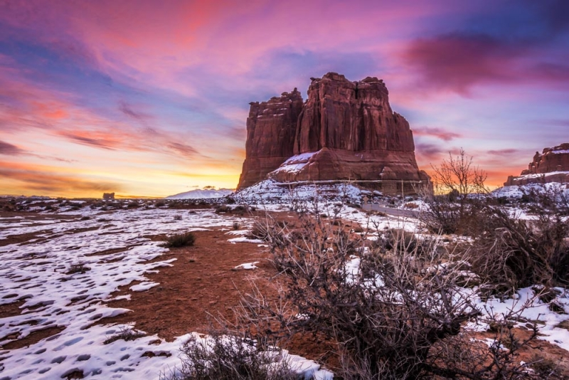 Sunrise At Arches N.p.