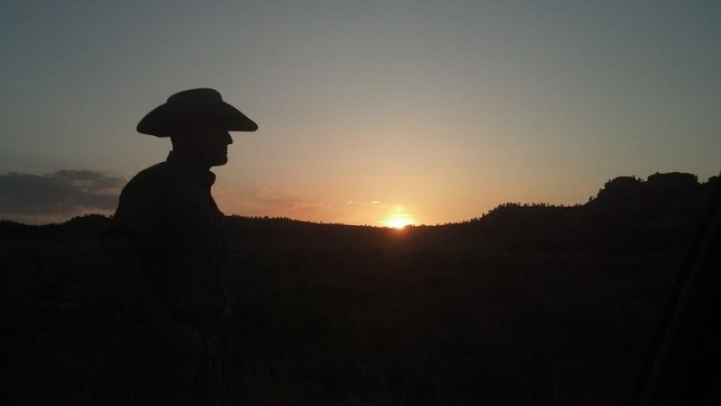 My Cowboy Sunset