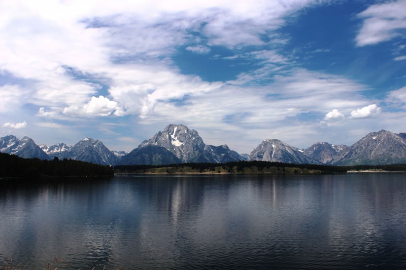 Grand Tetons In July
