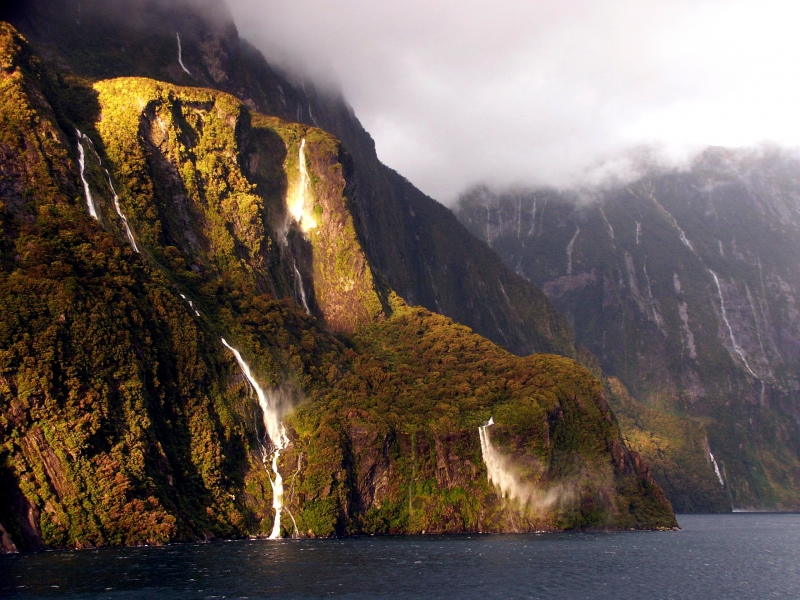 Doubtful Sound Falls