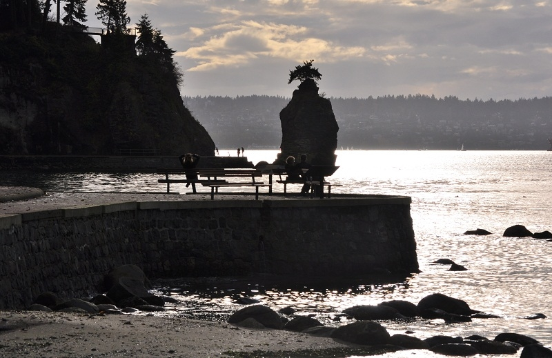 Seawall Silhouettes