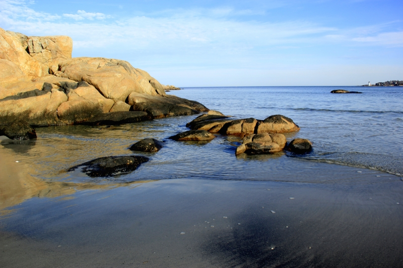 Typical New England Coastline