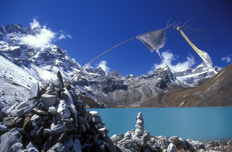 Prayer Flag, Gokyo Lake, Nepal