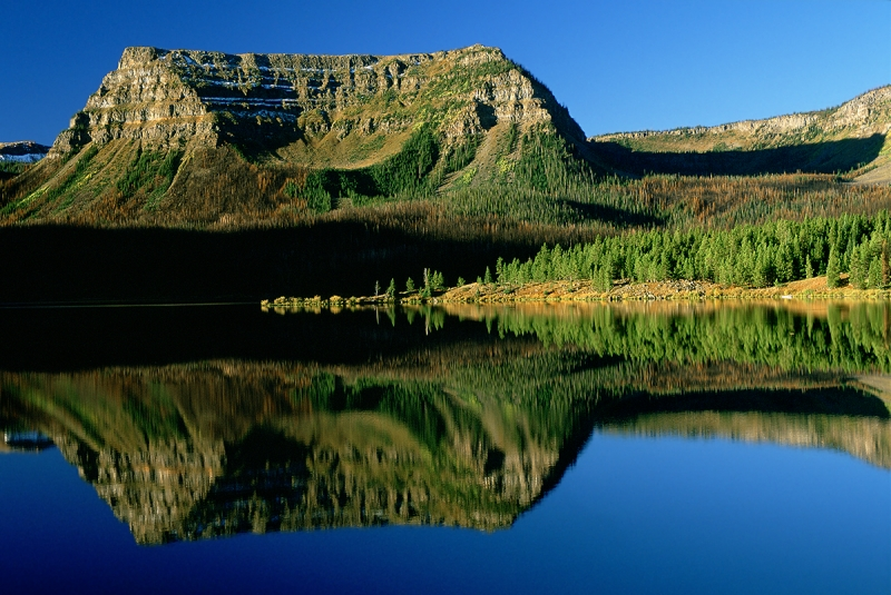 Trappers Lake, Colorado, Reflection