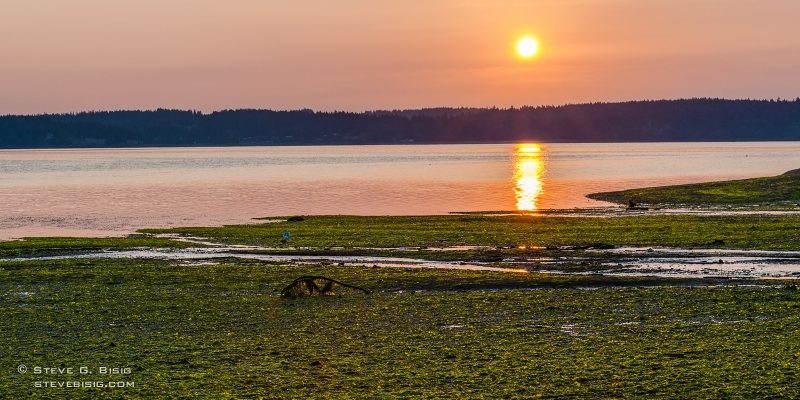 Early Fall Sunrise Over Puget Sound