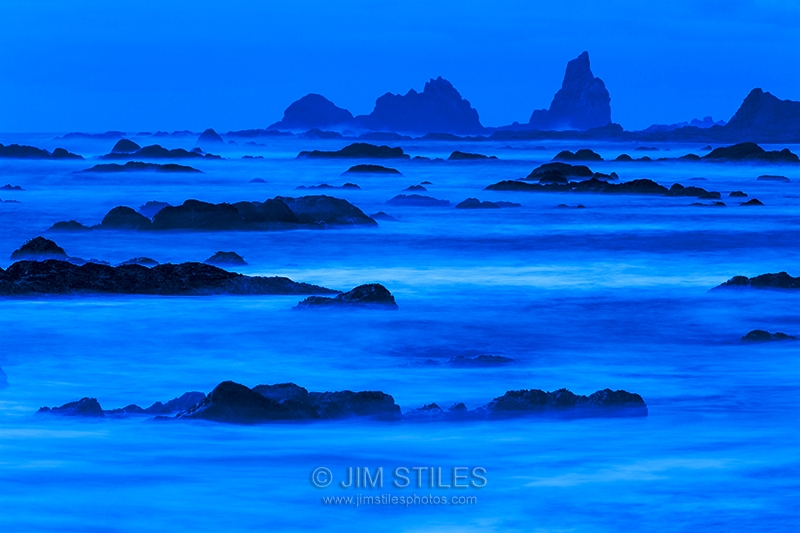 Twilight At Rialto Beach