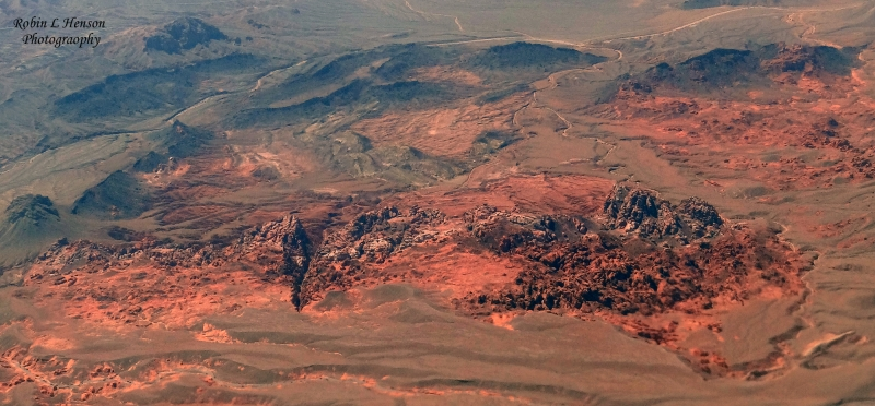 Valley Of Fire From The Air