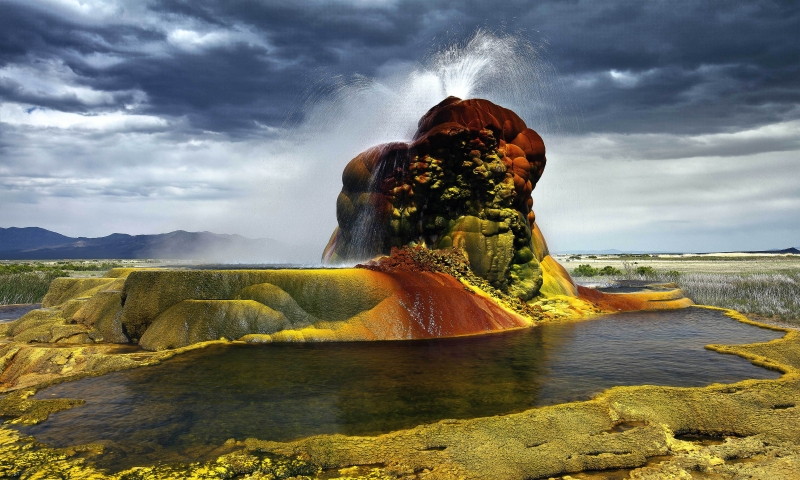 Flying Geyser