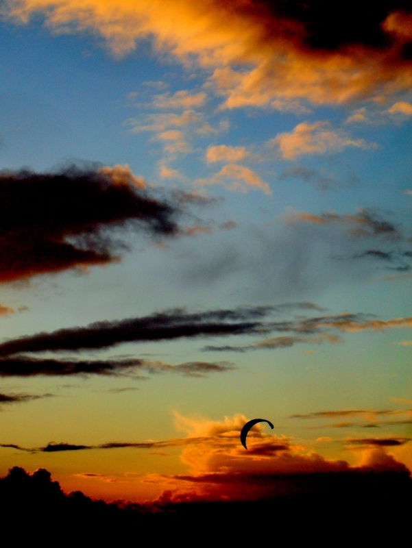 Parasailer Sunset