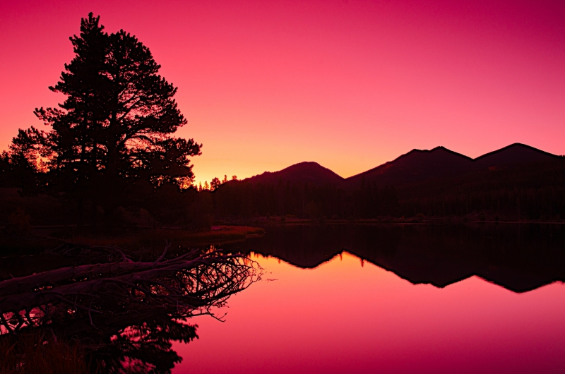 Sprague Lake Before Sunrise