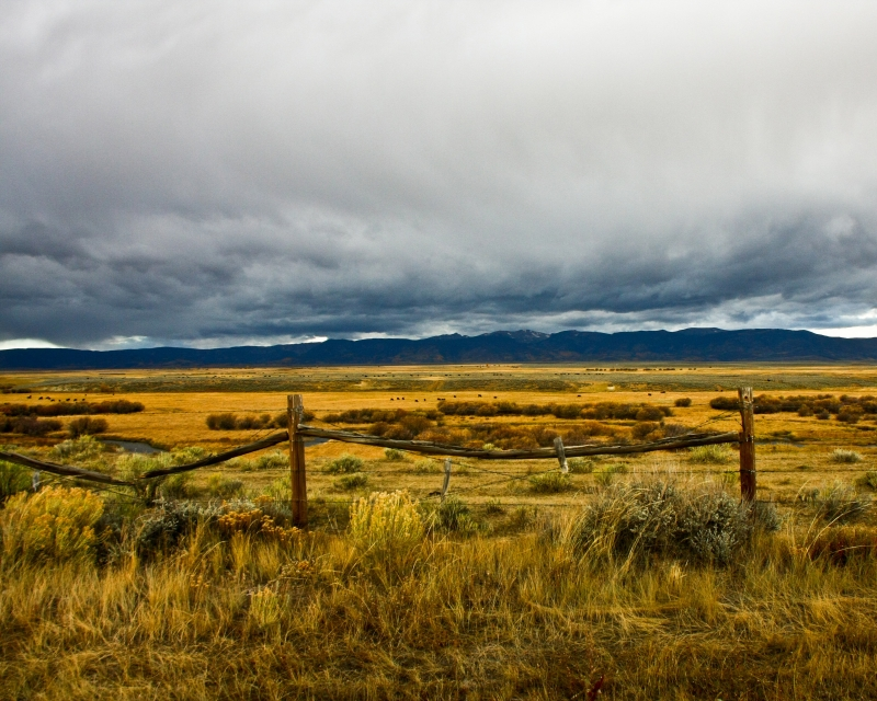 Approaching Storm Northwestern Colorado