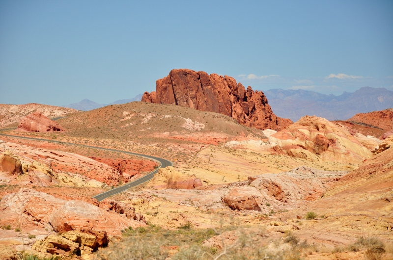 Rainbow Road-valley Of Fire, Nevada