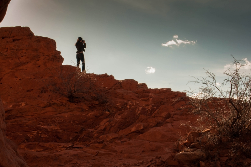 Photographing Garden Of The Gods