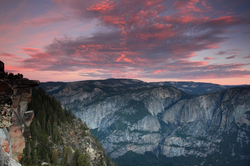 Sunrise Yosemite Valley