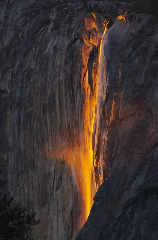 Horsetail Fall – February 13, 2011