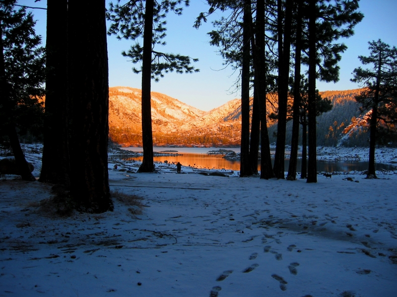 Pinecrest Lake Sunset