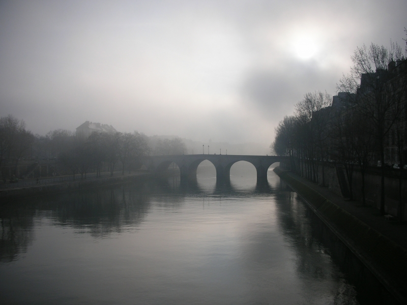 Morning Fog On The Seine