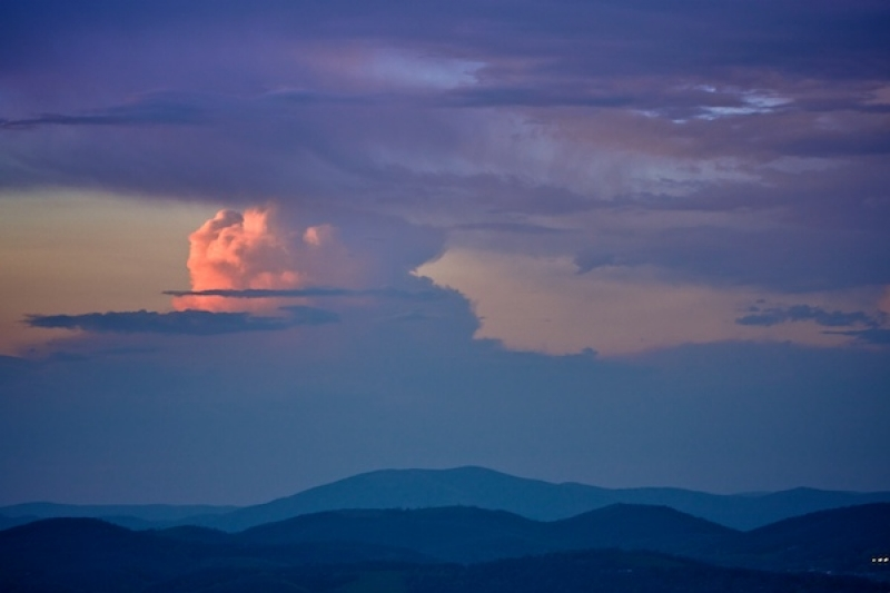 Thunderhead In The Blue Ridge Mountains