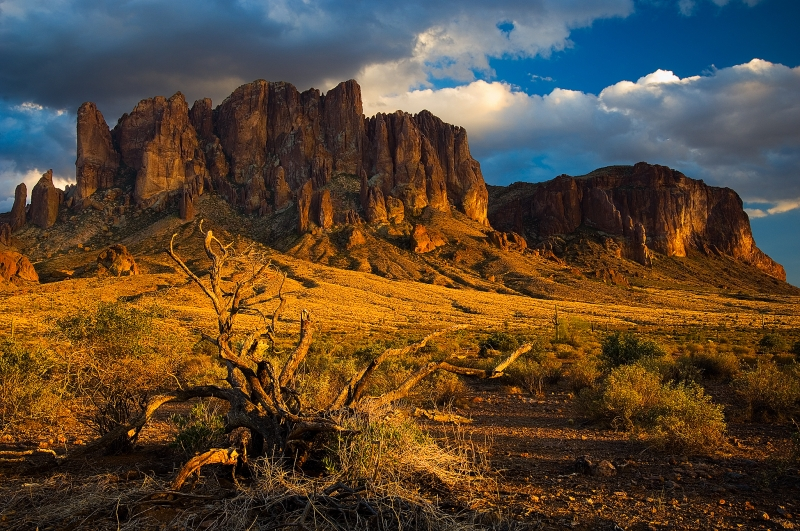 Superstition Mountains – James Conrad