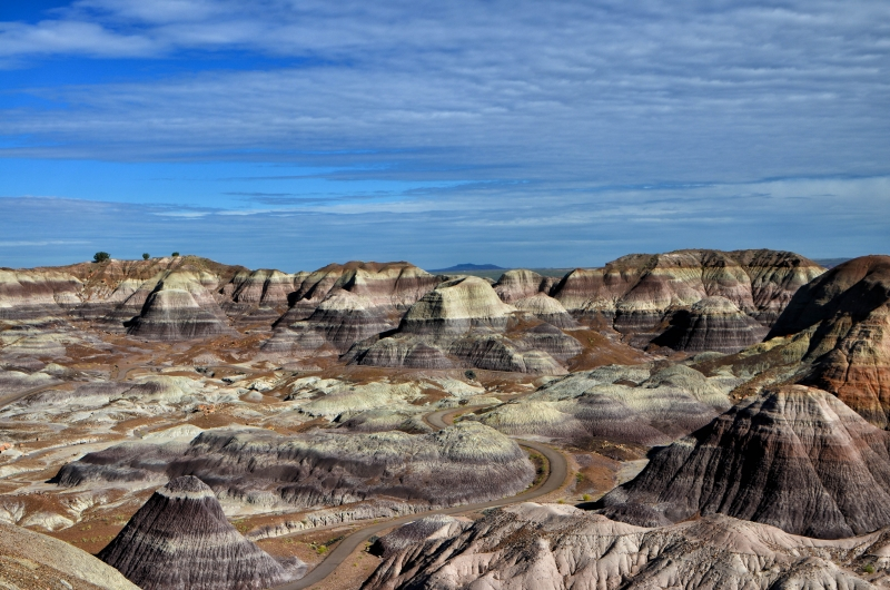 Layers: Petrified Forest National Park