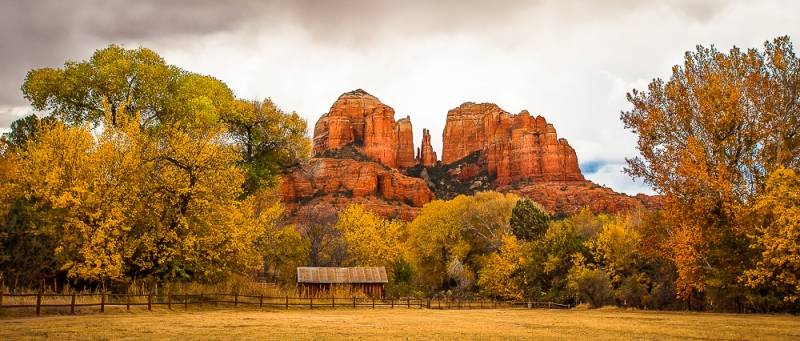 Autumn Colored Red Rock Country