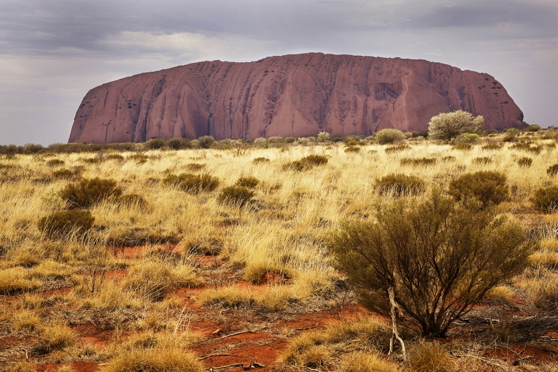 Uluru Or Iron Mountain